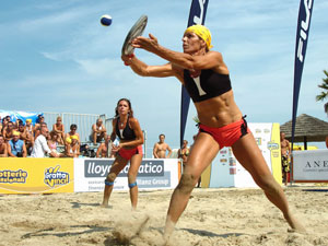 Beach tennis a Ostia
