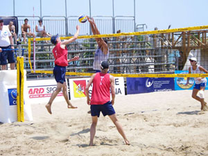 Beach volley a Ostia